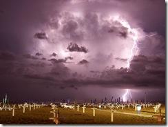 LightningOverMiramareDiRiminiItaly